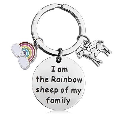 Amazon.com: Llavero de orgullo gay hecho a mano, llavero ...