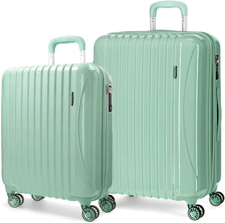 Juego de maletas rígidas 55-67cm Movom Trafalgar Verde