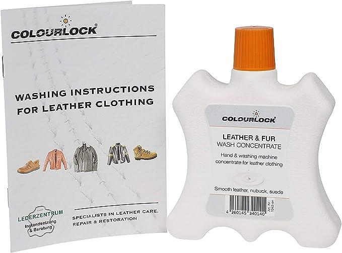 Jabón concentrado ropa cuero/piel, 250 ml LEDER-FEIN lava la ropa ...