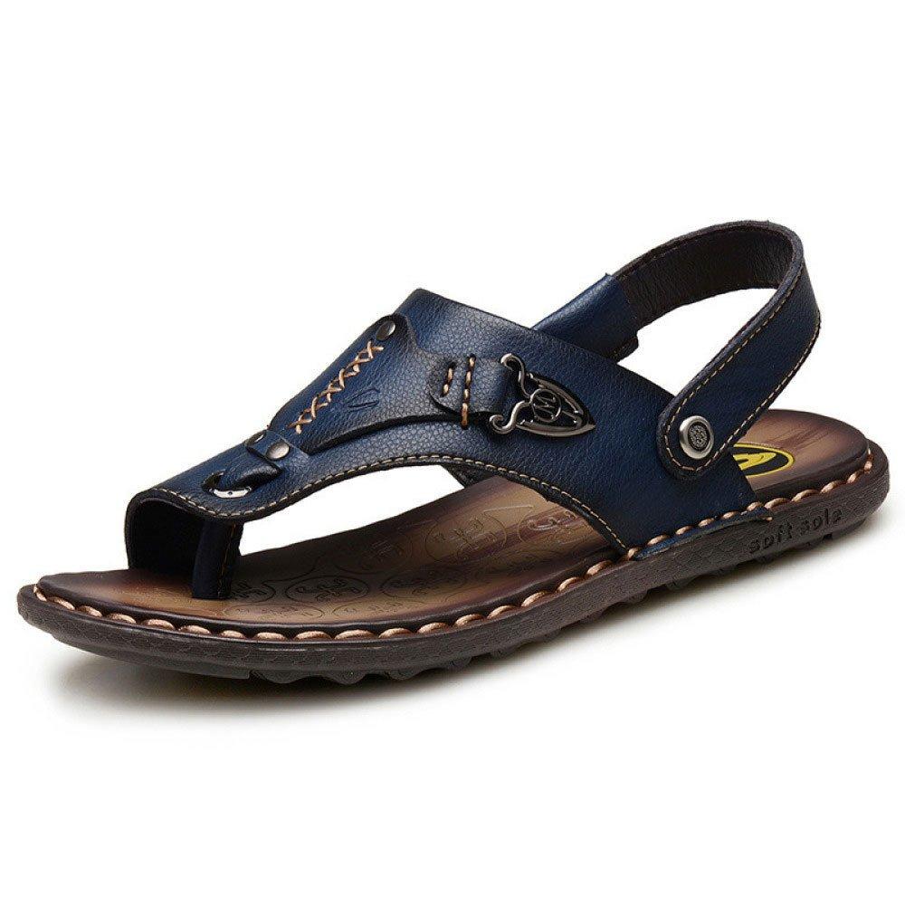Sandalias para Hombres Zapatillas De Playa Transpirables Y Resistentes Al Agua Sandalias Y Pantuflas 42 EU Blue