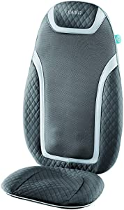 HoMedics Massage Cushion with Heat - Gentle Touch Portable, Adjustable Gel Massager