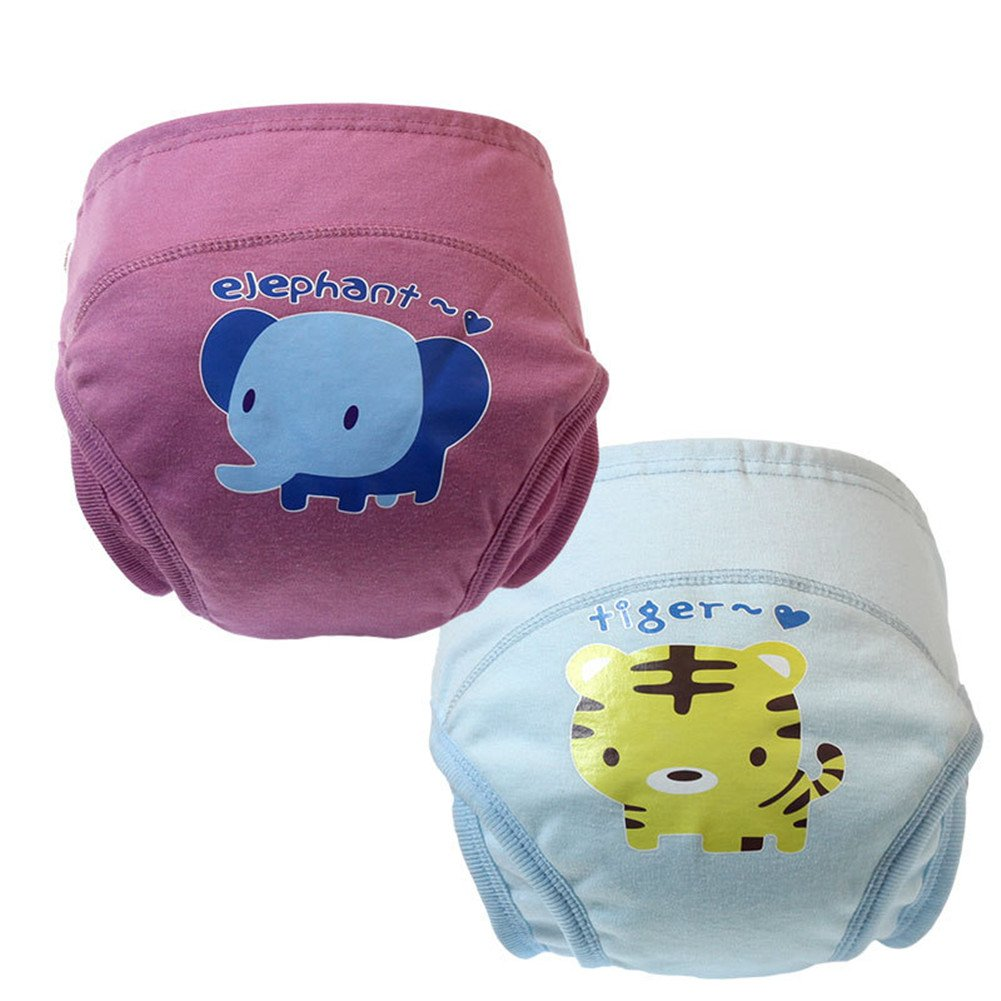 Skhls Unisex-Baby Reusable Cute Potty Training Pants Nappy Underwear