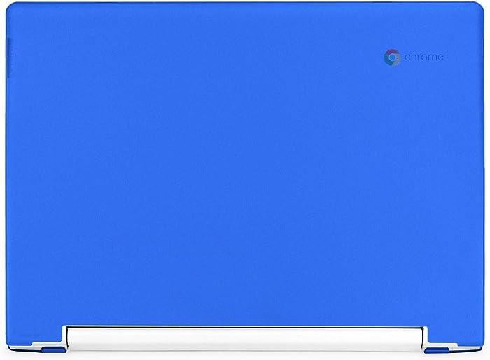 """mCover Hard Shell Case for Late-2018 11.6"""" Lenovo C330 Series Chromebook Laptop (NOT Fitting Lenovo N21 N22 N23 N24 100E 300E 500E Flex 11 Yoga 11e Chromebook) (LEN-C330 Blue)"""