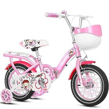Bicicleta infantil para niños Rosa Carro de bebé de 2 a 4 ...