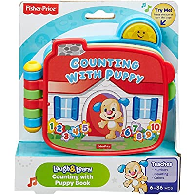 Fisher-Price Laugh & Learn Counting with Puppy Book: Toys & Games