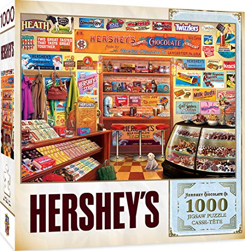 MasterPieces Hershey's Jigsaw Puzzle, Candy Shop, 1000 Pieces