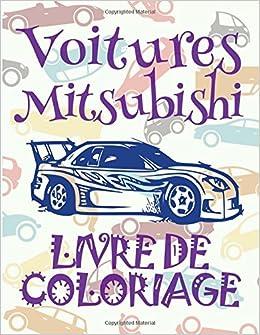 Coloriage Garcon Cars.Buy Voitures Mitsubishi Livres De Coloriage Voitures Livre De