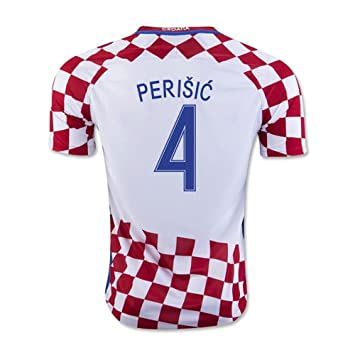 0e6e6b26f79 2016-17 Croatia Home Shirt (Perisic 4) - Kids