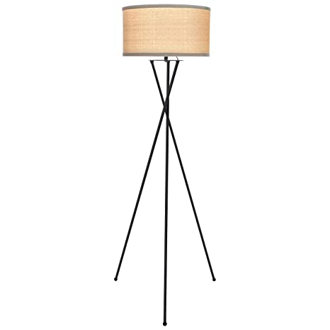 Brightech jaxon tripod led floor lamp mid century modern living brightech jaxon tripod led floor lamp mid century modern living room standing light tall aloadofball Gallery