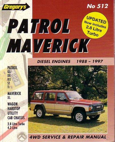 nissan patrol 1998 service repair manual