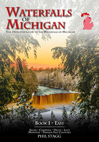 Waterfalls of Michigan - Book 1 is the definitive guidebook to the waterfalls in the eastern end of Michigan's Upper Peninsula as well as the Lower Peninsula. This book includes the waterfalls in Alger, Chippewa, Delta, Luce, Manistee and Presque Isl...