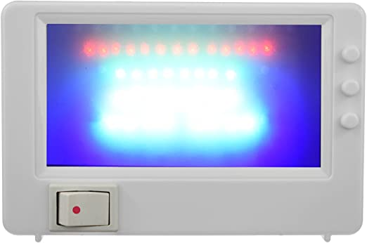 TV Simulator Fernseh Attrappe Dummy Einbruchschutz Security Einbrecherschreck