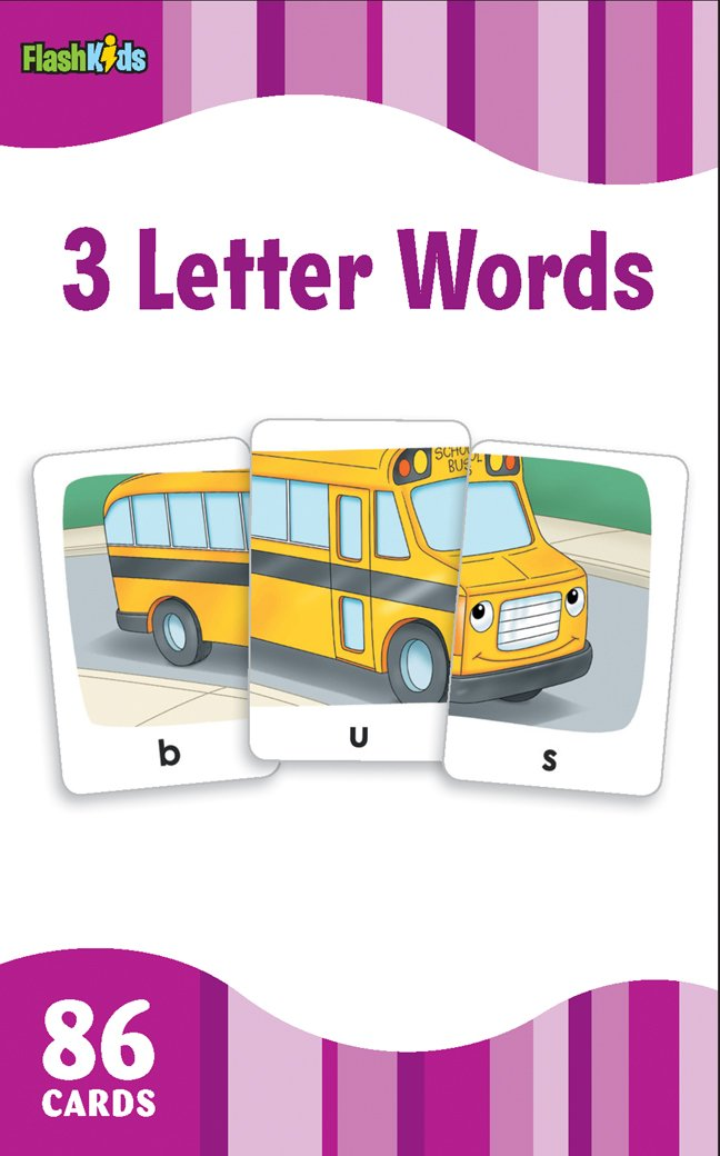 3 Letter Words Flash Kids Flash Cards Flash Kids Editors