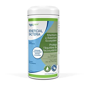 Aquascape 98949 Beneficial Bacteria Water Treatment Dry - 500 g/1.1 lb for Pond Water Feature