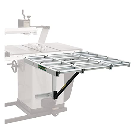 Table Saw Extension HTC HOR 1038 U2013 37u201d Outfeed Roller Support Table For  Table