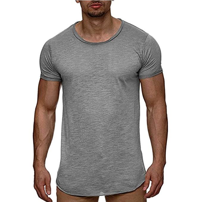 Deelin - Camiseta de Manga Corta para Hombre, Estilo Informal ...