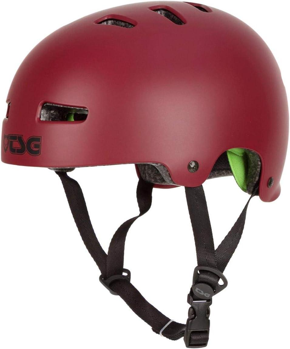 Unisex Adulto TSG Evolution Solid Color Casco de Skateboarding