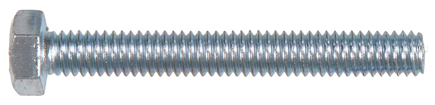The Hillman Group 44558 Full Threaded Hex Cap Screw Zinc Metric M6-1.00 X 40 15-Pack