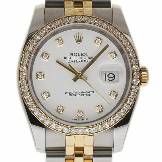 Rolex Datejust swiss-automatic Mens Reloj 116243 (Certificado) de segunda mano