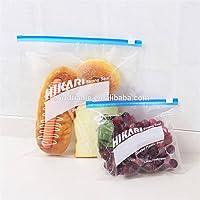 Slide-Rite Plastic Multi-Purpose Storage Slider Bag, 500 Gm, 1 Kg. ( Pack Of 30 Piece )