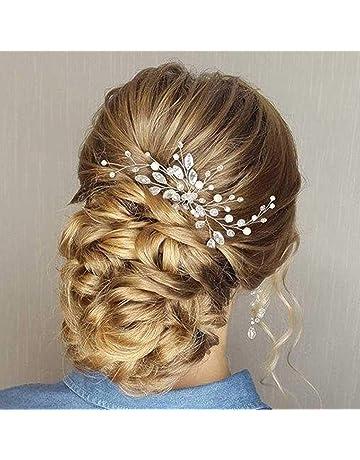 Pines para el pelo de boda Simly, accesorios para novia y dama de honor (