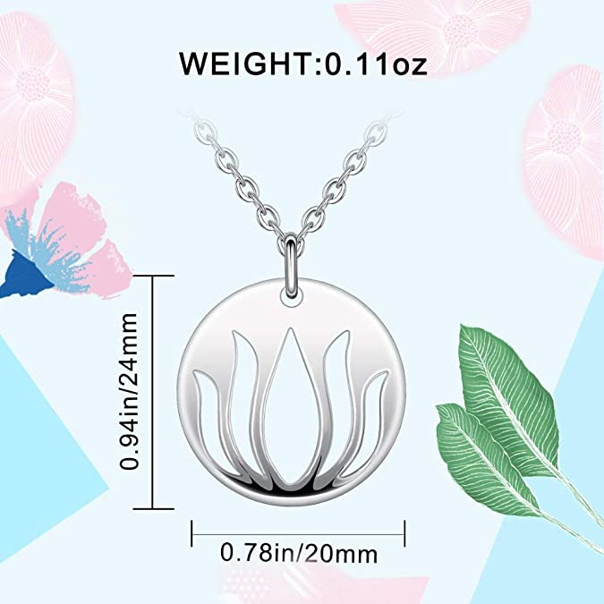GLEENECKLAC 925 Sterling Silver Knot Pendant Necklace For Women Flower Design Fashion Silver Jewelry