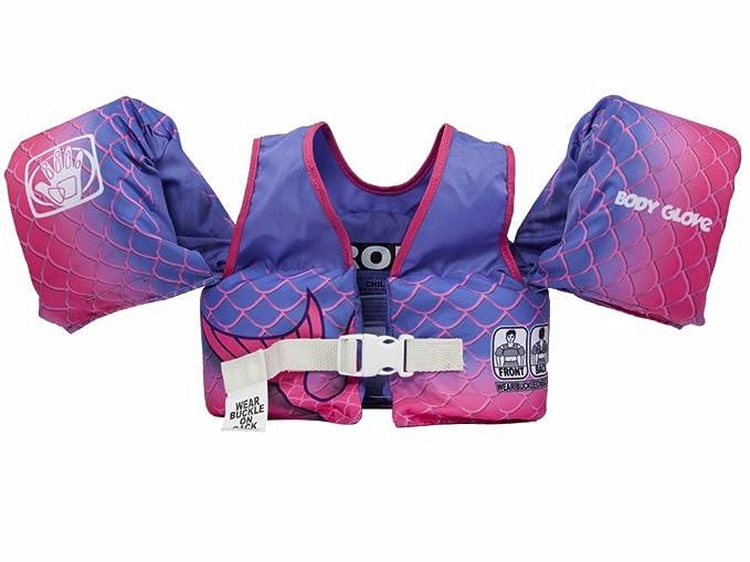 b3878cf4bce Amazon.com : Body Glove 13226BM-Mermaid Aquatic Mermaid Swim Life Jacket :  Sports & Outdoors