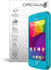Celicious Impact Anti-Shock Shatterproof Screen Protector Film Compatible with BLU Dash L3
