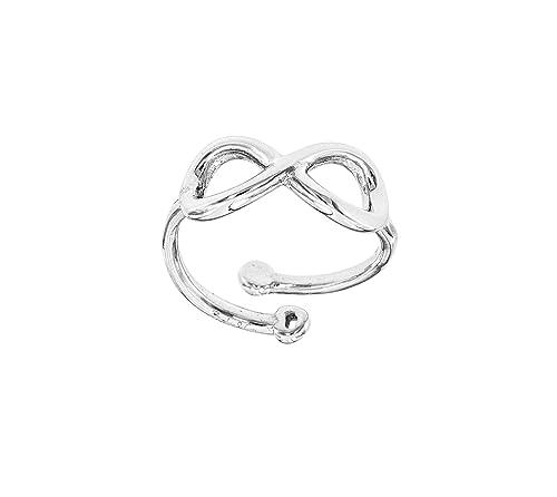 anello infinito  argento 925   regolabile qualsiasi misura infinito amore