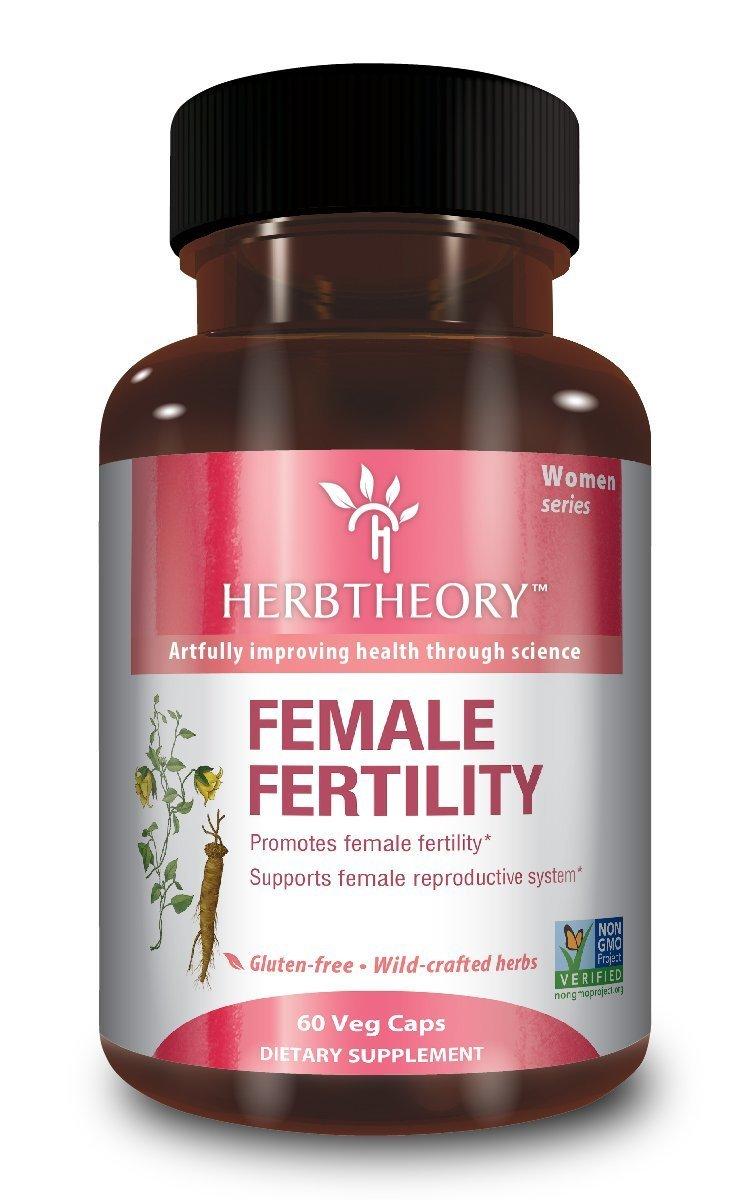 Female Fertility Natural Herbal Supplement 60 Capsules