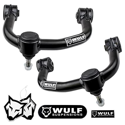 Front WULF Upper Control Arms Kit For 2004-2018 Ford F150 2WD/4WD (2-4