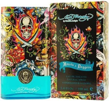 ED HARDY HEARTS & DAGGERS by Christian Audigier Cologne for Men (EDT SPRAY 3.4 OZ)