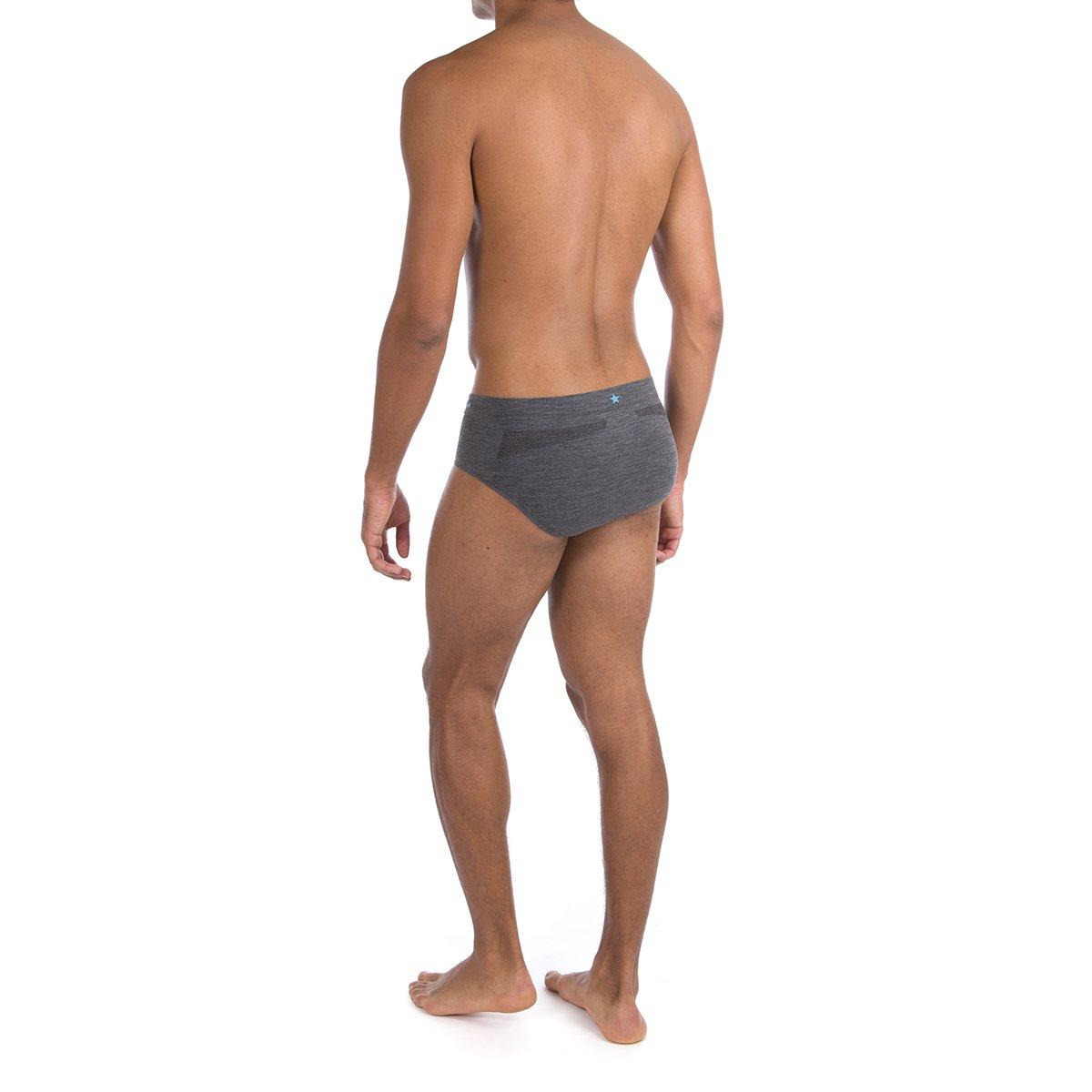 Premium Chafe-Free Running Underwear Runderwear Mens Merino Briefs