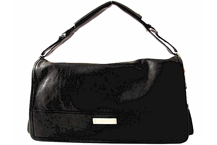 Amazon.com: Michele Collins Flap Negro Bolso [Apparel]: Shoes