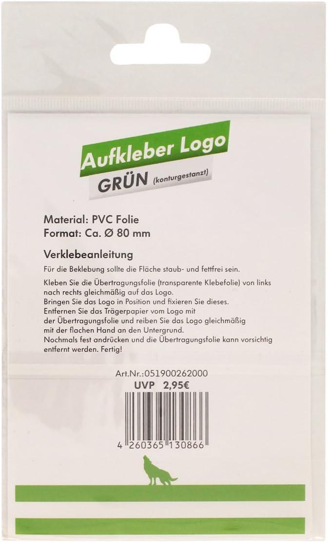 VfL Wolfsburg Aufkleber Logo gr/ün-wei/ß