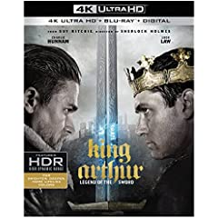 King Arthur: Legend of the Sword on Digital July 25 and on Blu-ray, DVD August 8 from Warner Bros.