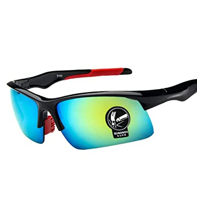 904ea9c374dd23 Lunettes De Soleil Sport Polarisées Pour Hommes Femmes Protection UV400  Lunettes Incassables Pour Vélo équitation Conduite