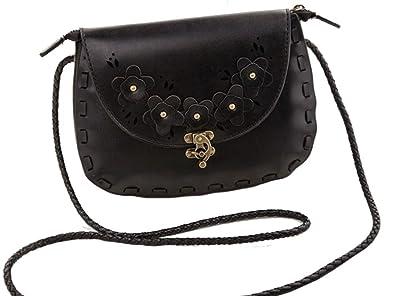 Zumeet Womens High Quality Decent Look Small Designable Handbag Shoulder Bag Black