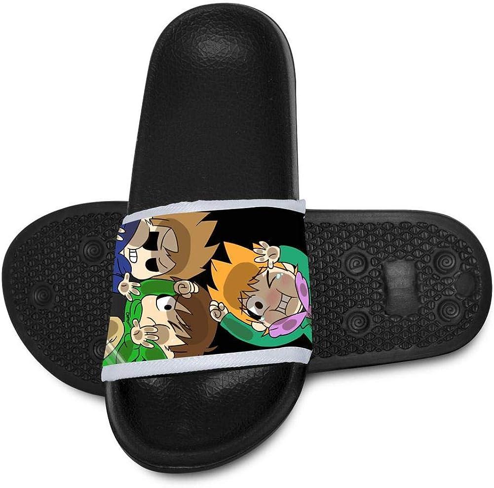 Bdaba78A EDD-s-World Kids Summer Slide Slippers Shoes Outdoor Indoor Sandals Boys Girls