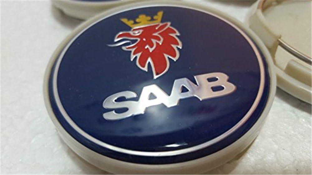 eMarkooz 4/x lega ruota centro coprimozzi set di 4/centro Caps 63/mm Best Fit per Saab ruote