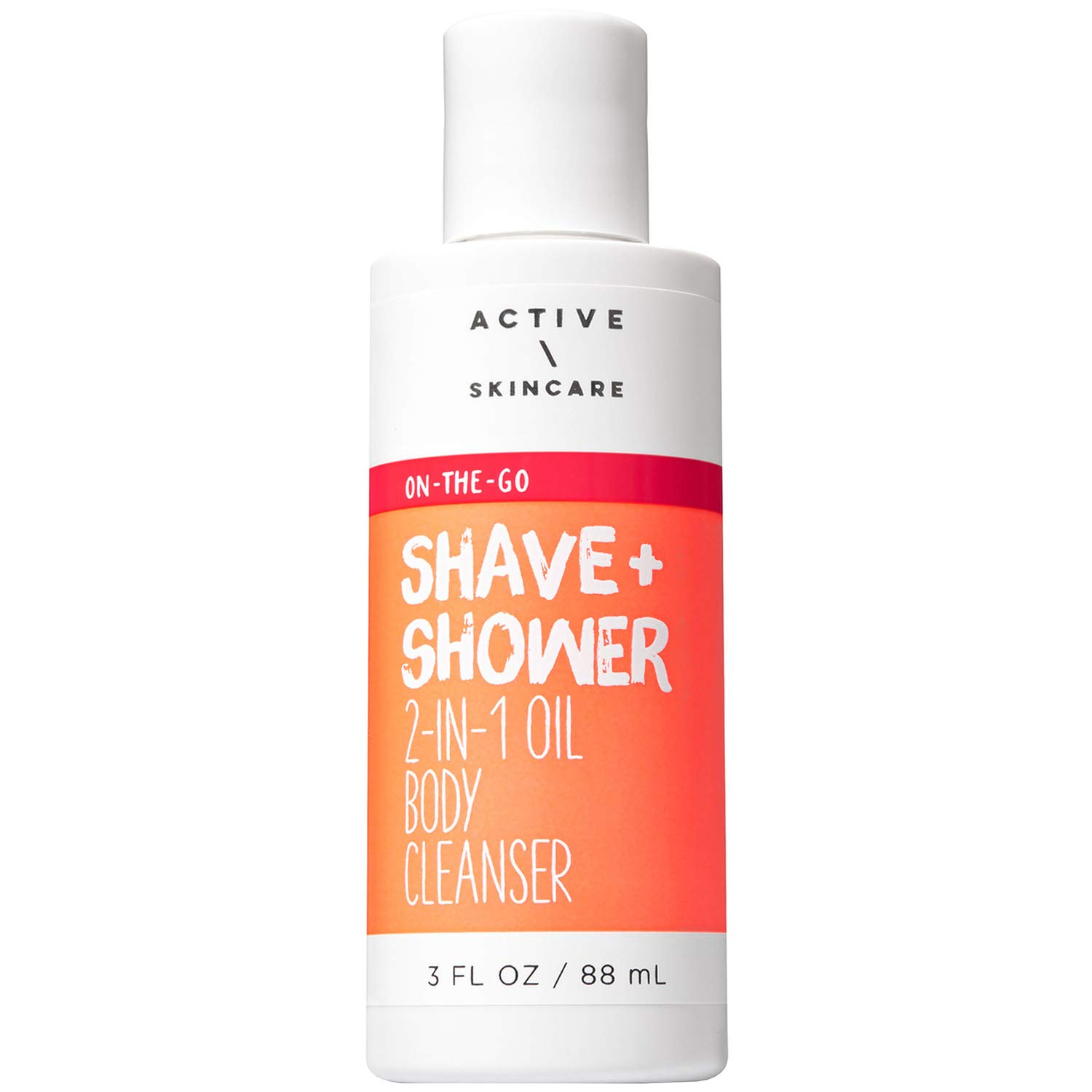 Bath and Body Works Active \ Skincare SHAVE + SHOWER Mini 2-in-1 Oil Body Cleanser 3 Fluid Ounce