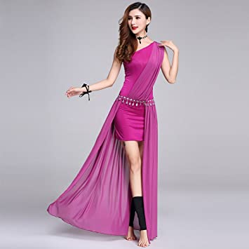 Xueyanwei Professional Lady Belly Dance Costumes Indian Dance Dress Dance Big Swing Skirt Dance Dress Competition