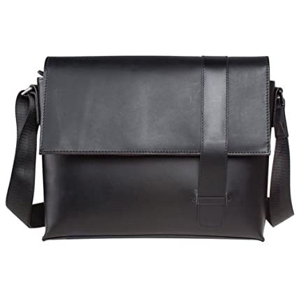 Männer handgemachte echtes Leder Aktentasche Laptop Messenger Schultertasche