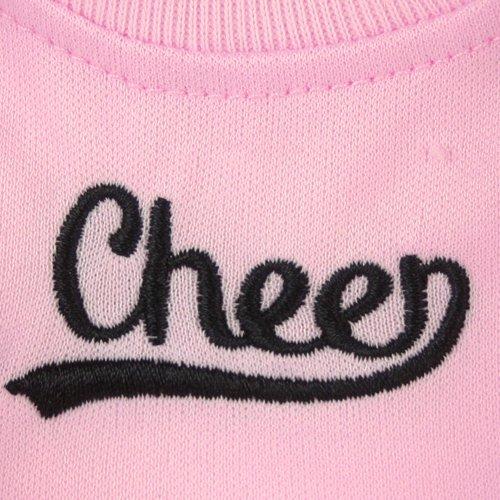 3 Pc Pom Poms and Megaphone Fits Bitty Baby American Girl Baby Dolls,Pink Cheerleader Set Sophia/'s Sophias 15 inch baby doll Clothing Cheerleader Outfit Set of Pink Cheerleader Dress