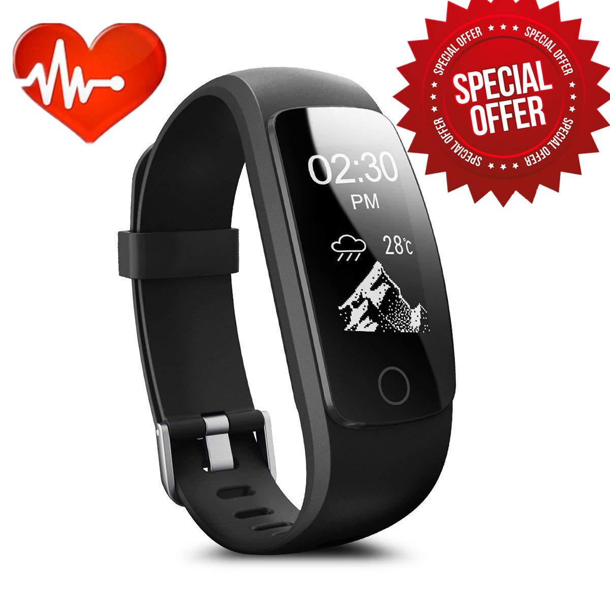 Fitness Tracker, Drillpro id115 Plus muñequeras de actividad con ...