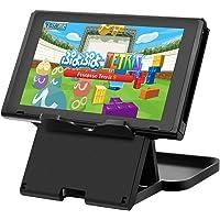 Zecti Soporte para Nintendo Switch, Ajustable Plegable multiángulo Ajustable Soporte con Acceso de ventilación para Consola de Nintendo Switch Tableta Celulares