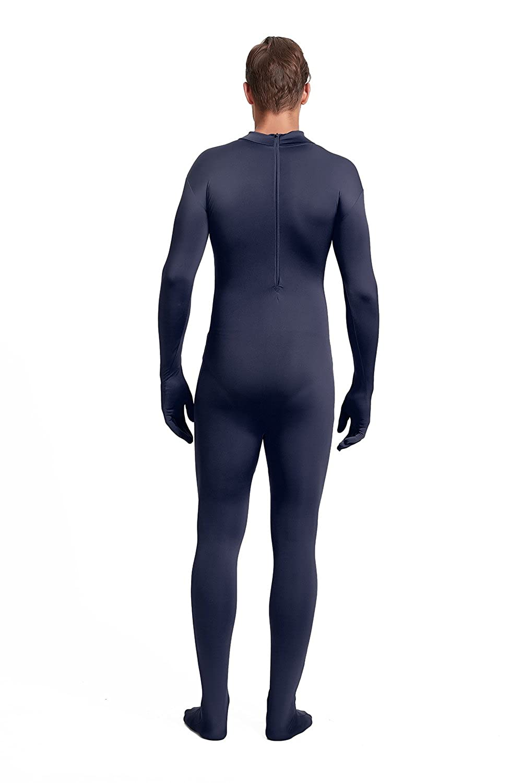 Full Bodysuit Unisex Adult Costume Without Hood Lycra Spandex Stretch Zentai Unitard Body Suit