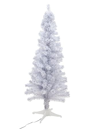 Tannenbaum Weiss Led.Amazon De Europalms Tannenbaum Fiber Led 180cm Weiß