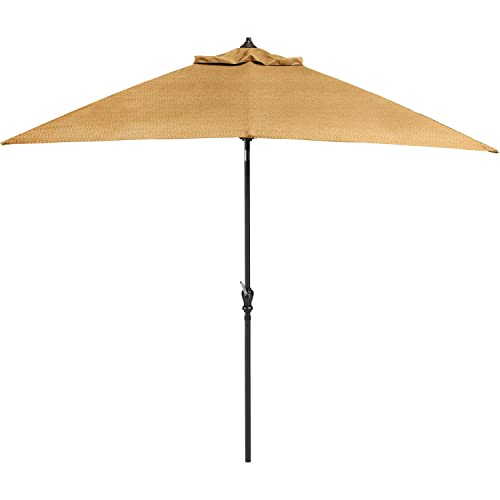 Hanover BRIGANTINEUMB Umbrella for The Brigantine Outdoor 9 Piece Dining Set, Bronze