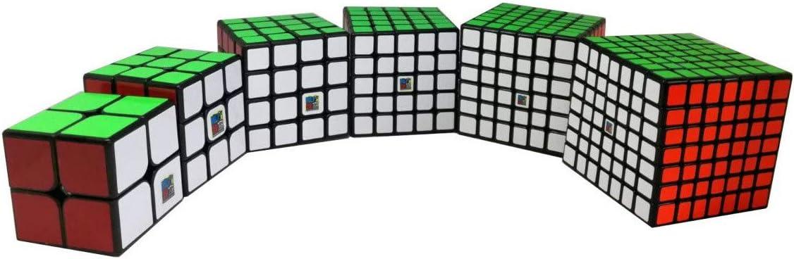 MoFang JiaoShi Pack de Cubos Moyu 234567 - Base Negra: Amazon.es: Juguetes y juegos